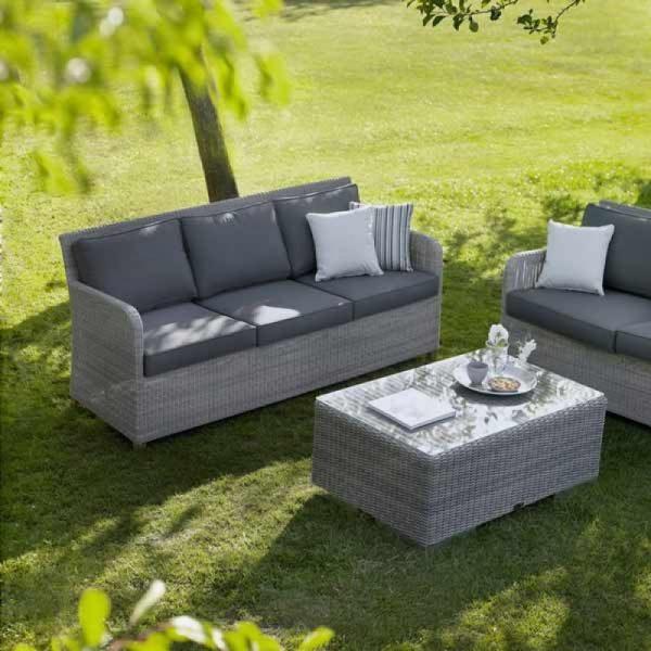wicker garden sofa, outdoor sofa malaysia