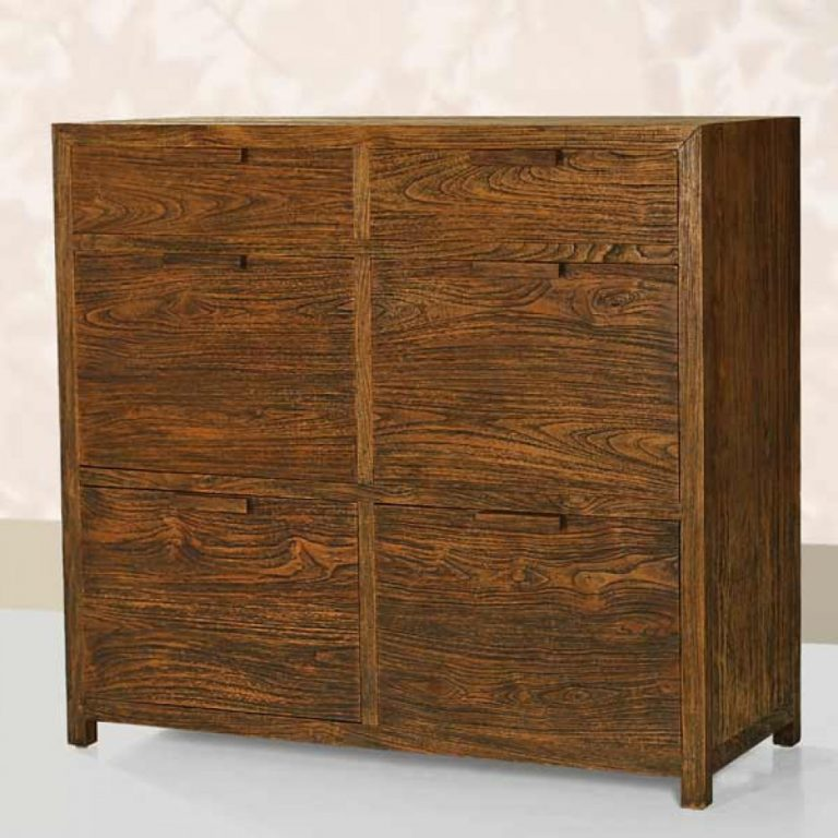Reclaimed teak furniture, classic Chest of drawers in teakwood