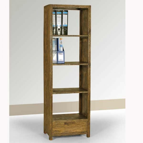 reclaimed book case, recycled wood furniture