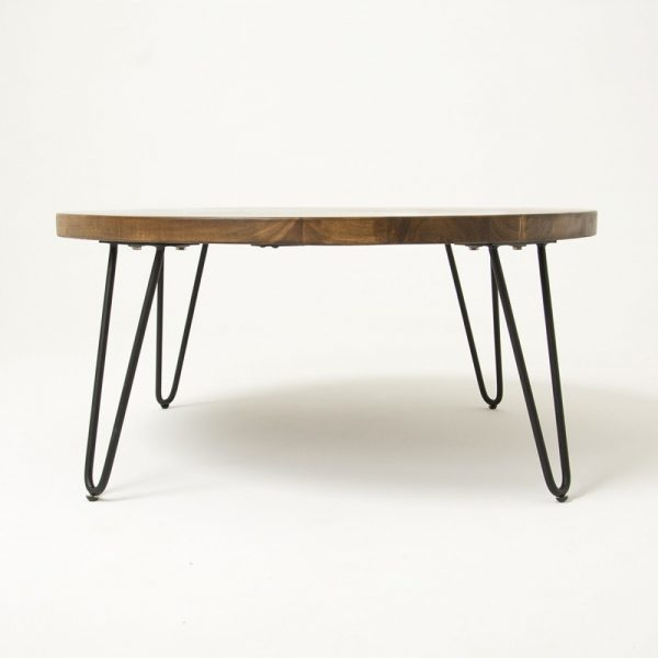 round wooden modern coffee table Malaysia