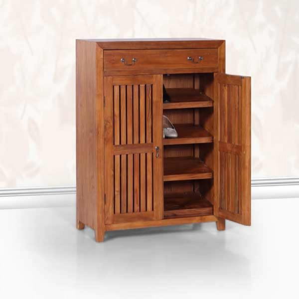 Rustic shoe cabinet in Kl Pj