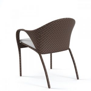 wicker dining chair, cafe furniture Selangor, outdoor wicker chair KL