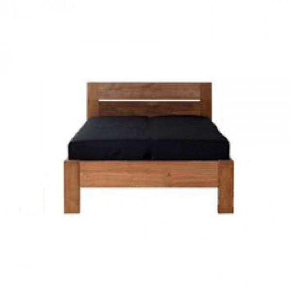 Teak wood bed frame solid wood bed