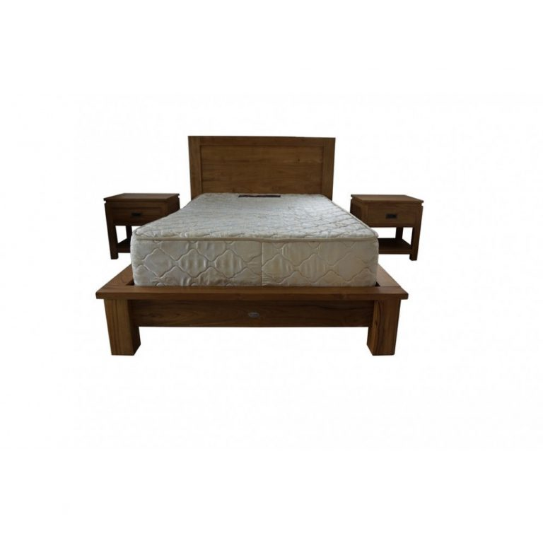 single bed, solid teak wood single bed