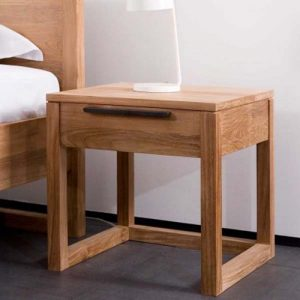 single drawer bedside table