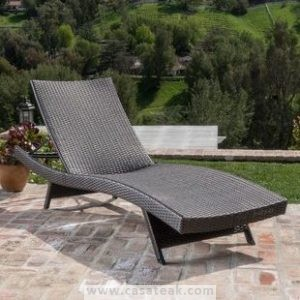 stacking wicker lounger