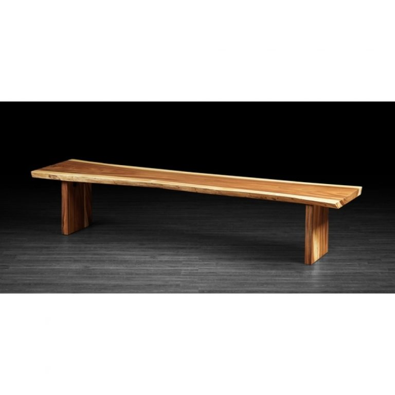 indoor rain tree solid dining bench