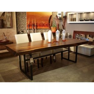 Suar Wood Dining Table PJ, Solid Wood Table Malaysia