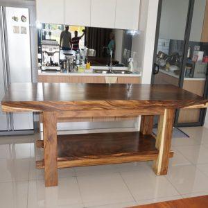 Suar wood Dining Table, Suar table Furniture Malaysia