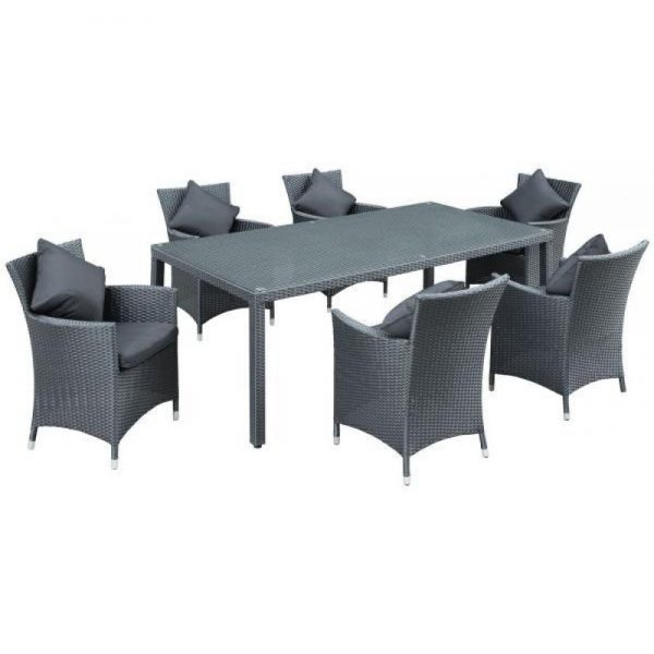 Tai wicker dining set, Wicker Dining Set Damansara , Wicker outdoor dining table