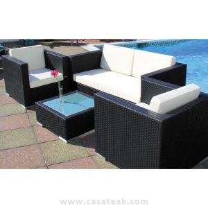 Tajani Wicker Sofa Set in JB, garden sofa, pool side furniture