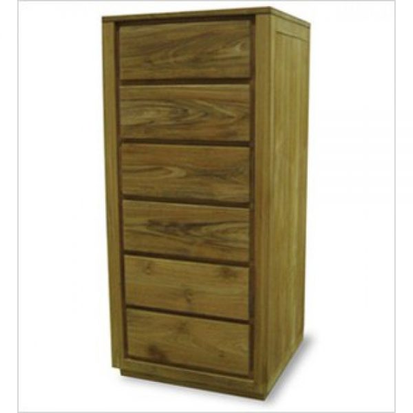Tall Chest of drawers in teakwood