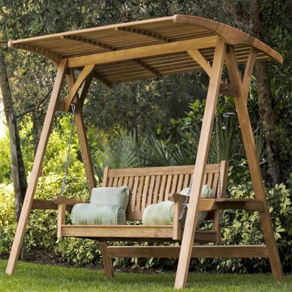 Teak Garden Swing TS-01 - Casateak- Teak Furniture Store