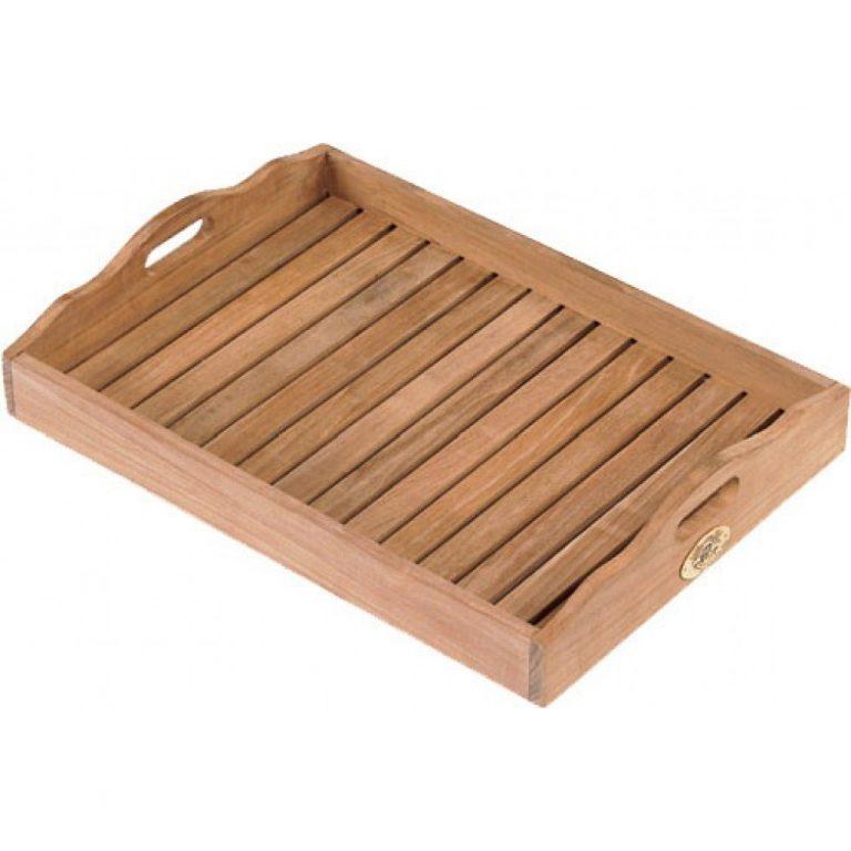 Teak wood tray