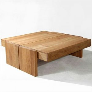 Double Drawer Coffee Table