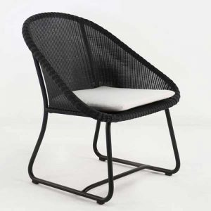 babylon wicker armchair, cafe furniture, custom design furniture