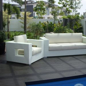 wicker garden sofa, outdoor sofa set,