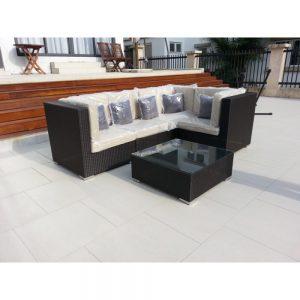 Wicker sofa, wicker furniture, garden sofa