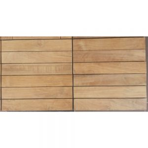 Wood flooring solid teak