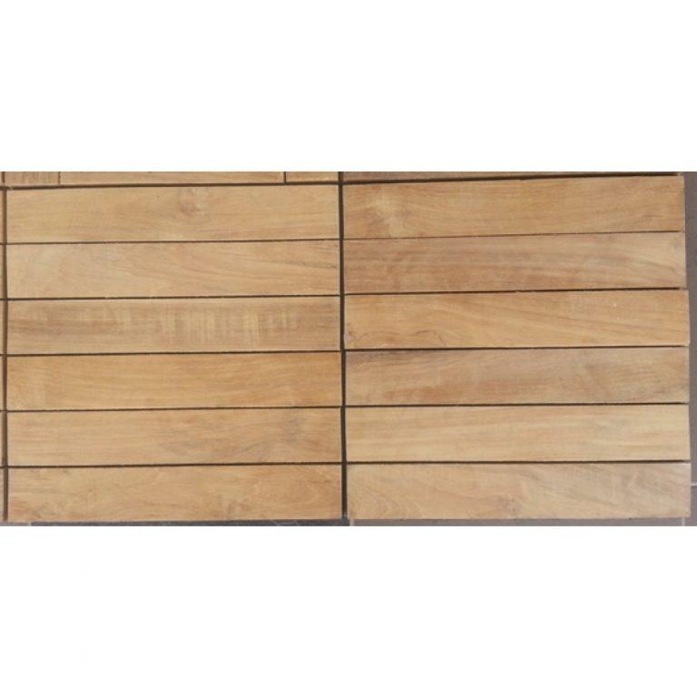 Wood flooring solid teak