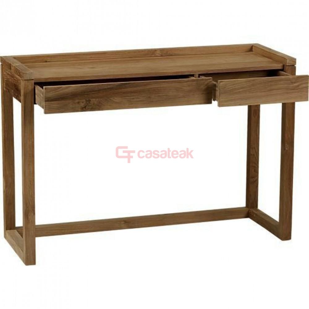 wicker writing desk
