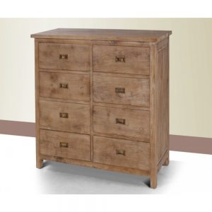 Chest of drawers in teakwood