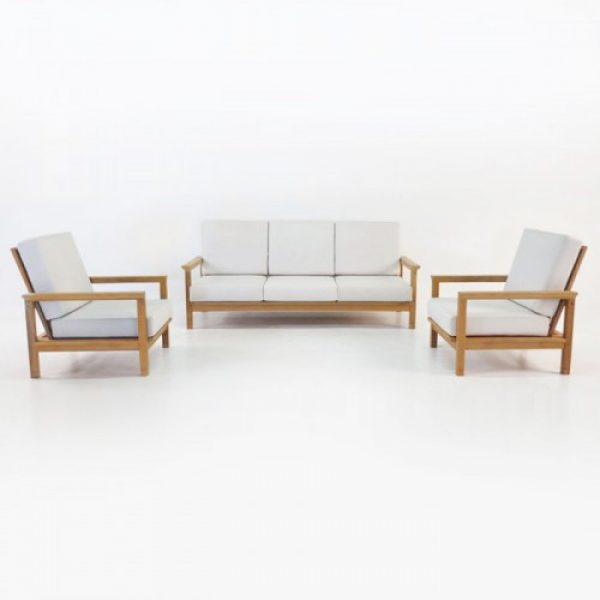 Teak wood sofa, wooden sofa set, garden sofa kl