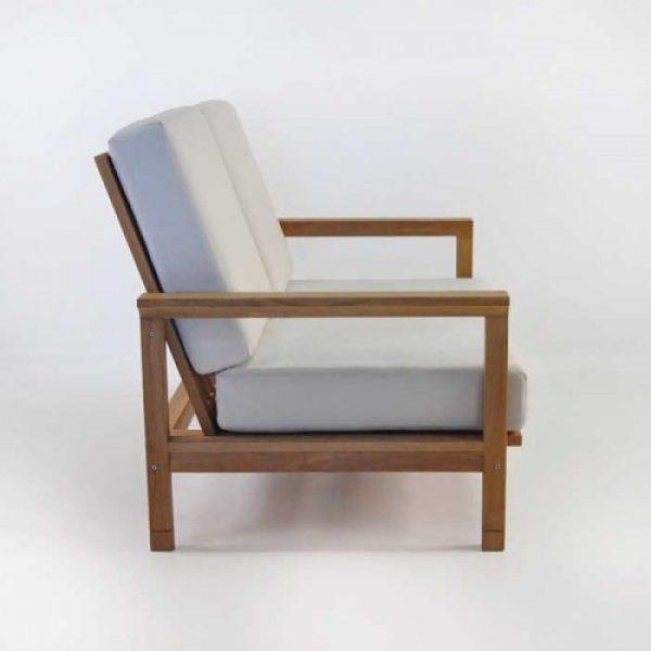 teak wood sofa, solid wooden sofa, garden sofa