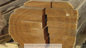 teakwood logs