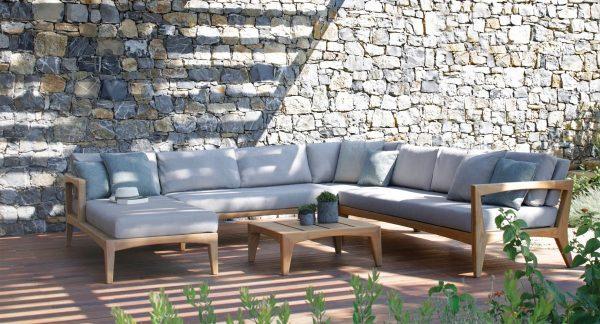 Wooden Sofa, Outdoor Sofa Set, teak wood outdoor sofa for garden in KL