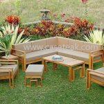 Outdoor Sofa, teak wood furniture in malaysia