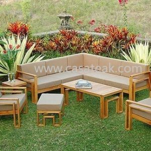 Outdoor Sofa, teak wood furniture in malaysia
