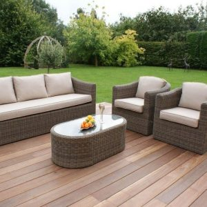 Modular wicker sofa set in PJ