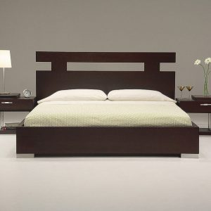 Hilton King Bed Frame,teak bed frame, Katil Jati Furniture