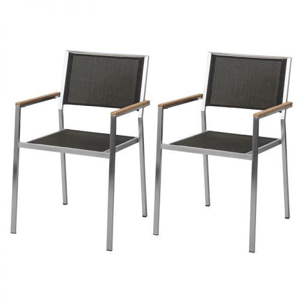 Sling Steel Outdoor chair, garden chairs
