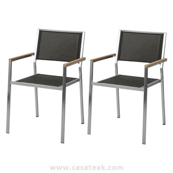 Sling Steel Outdoor chair, garden chairs