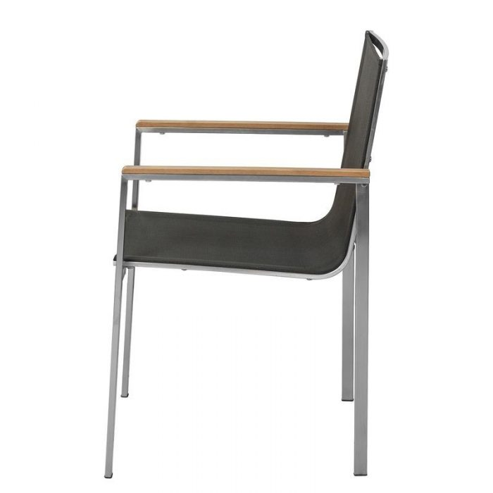 Steel Dining chair outdoor