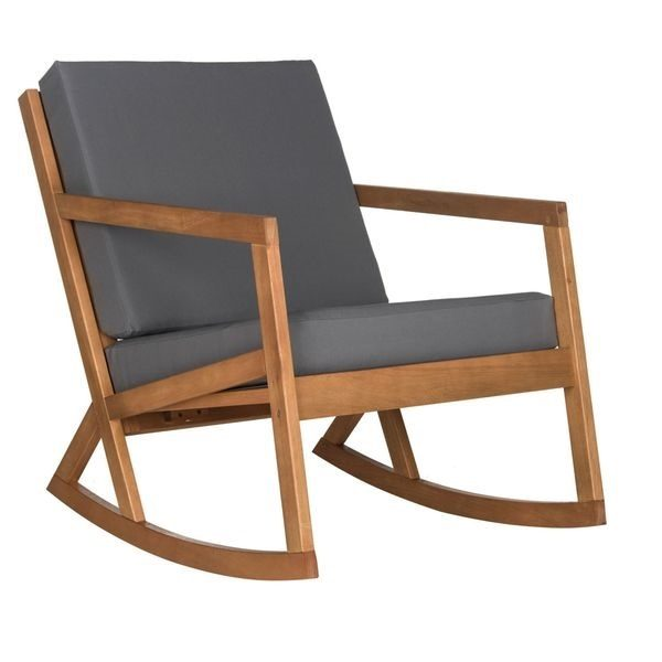 Teak Wood Rocking Chair