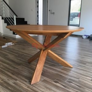 Teak wood Round Tables KL