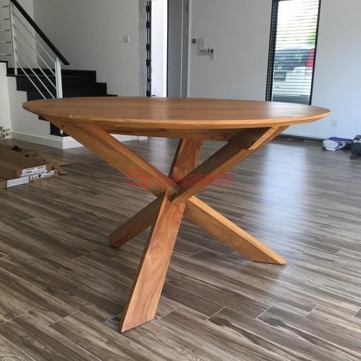 Teak wood Round Tables KL