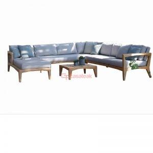 Teak Wood Sofa Set