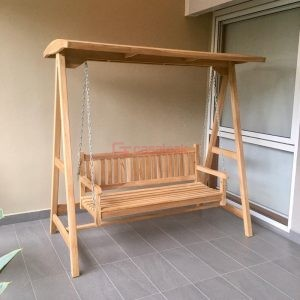 teak wood outdoor Swing