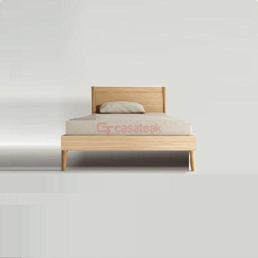 eak Bed Frame Minimalist Single